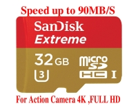 THẺ NHỚ 32GB Sandisk EXTREME Micro SDHC (Class 10) 90MB/S
