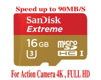 THẺ NHỚ 16GB Sandisk EXTREME Micro SDHC (Class 10) 90MB/S
